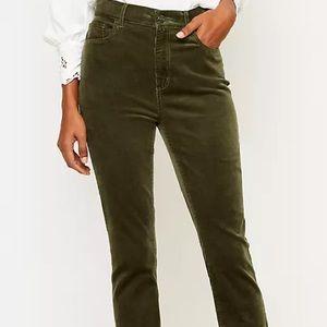 J brand Olive green corduroys size 29